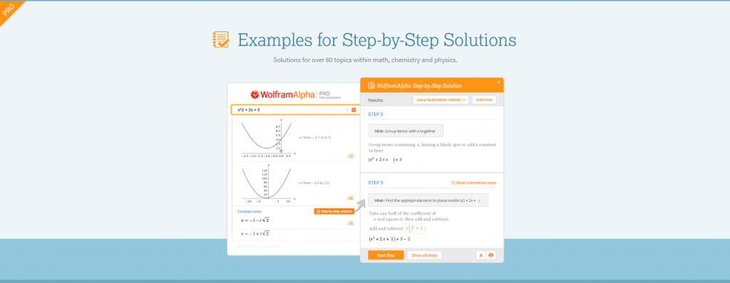 Math Help Websites WolframAlpha