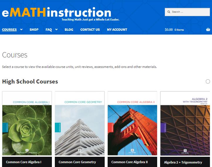 eMATHinstruction